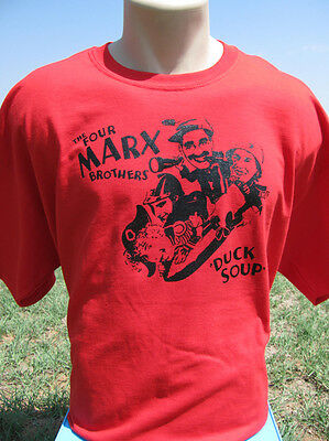 The Four Marx Brothers Duck Soup T-Shirt Groucho, Harpo