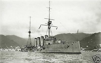 Royal Navy Duke Of Edinburgh Class Armoured Cruiser Hms Black Prince
