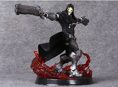OW OverWatch Reaper Gabriel Reyes Game PVC Figure Toy Statue New In Box