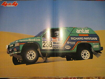 Poster 2 Pages Auto : Nissan 4X4 Magazine