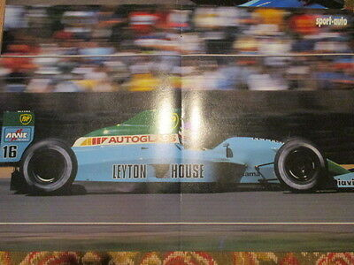 Poster 2 Pages Auto : Formule 1 Leyton House N°16