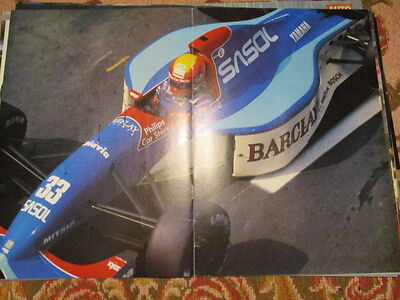 Poster 2 Pages Auto : Formule 1 Yamaha Gugelmin ?