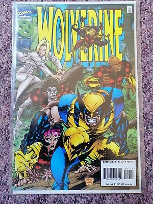 WOLVERINE #94 VOL1 MARVEL COMICS X-MEN OCTOBER 1995 bagged and boarded