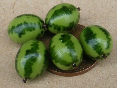 1:12 Scale 10 Kiwi Fruit Tumdee Dolls House Miniature Food Kitchen Garden Shop