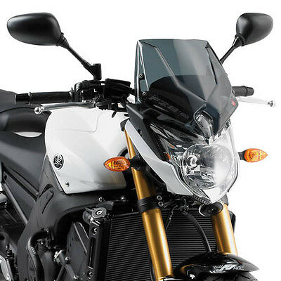 YAMAHA FZ8 2010 WINDSCREEN Givi A287 FZ8-N SCREEN smoked flyscreen + fittings