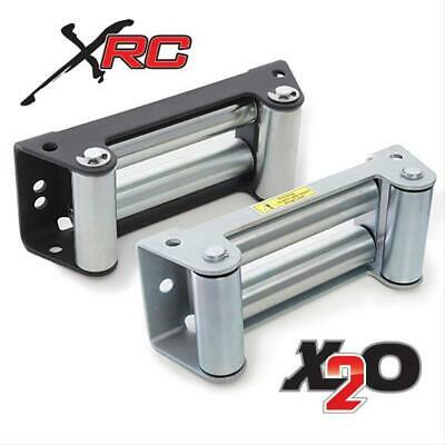Smittybilt Winch Fairlead 4-Way Roller Low Profile Steel Each