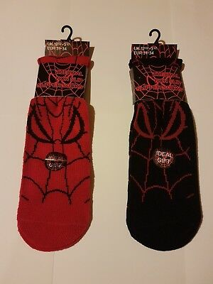 childrens 1 PAIRS SPIDER WEB DESIGN THERMAL WARM NON SLIP SLIPPER NEW RED new