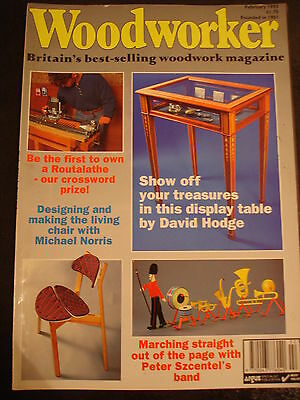 Tradition woodworking - Feb 1993 - Display table