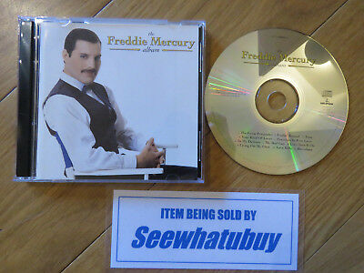 Freddie Mercury - The Album - CD (Parlophone U.K.) QUEEN - Mint Condition