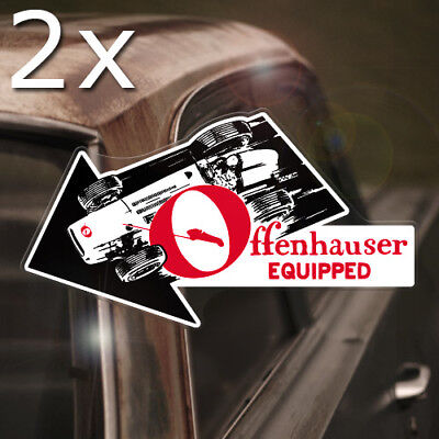 2x pieces NHRA Victory Hand REAL waterslide decal hot rod inside glass window