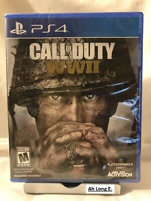 Call of Duty: WWII WW2 (PS4, PlayStation 4, Sealed Brand New)