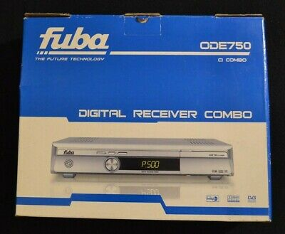 FUBA ODE 750 COMBO: Decoder Digitale Terrestre e Satellitare Common Interface