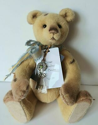 Charlie Bears - Alistair  - Isabelle Lee Collection - Ltd Edt #24 - Mohair -2019