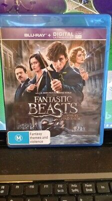 Fantastic Beasts And Where To Find Them - Blu-ray - Region FREE- NEW/UNSEALED