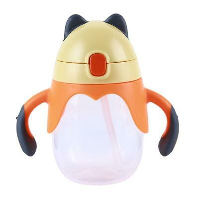 Cute Baby Slicone Non-Spill Leak Proof Toddler Cup Proof Bottles Y