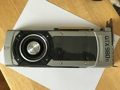  EVGA GTX 980Ti 6GB Apple Mac Pro compatible - Holiday