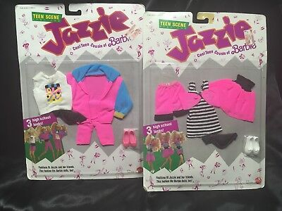 Barbie Cousin Jazzie Outfits New Teen Seen Fashion Set of 2