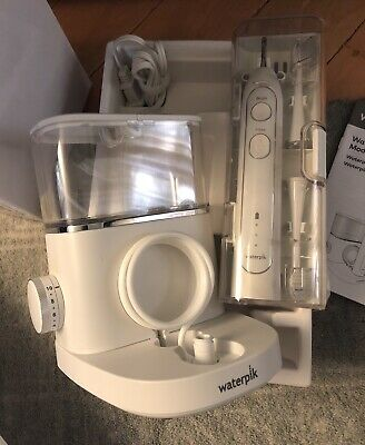 New Waterpik Sonic Fusion SF-02W Professional Flossing Toothbrush White