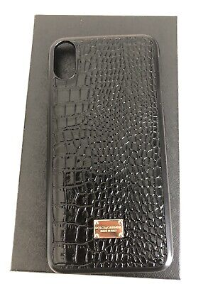 brand new bf316 98809 DOLCE & GABBANA Case For Iphone XS MAX Black