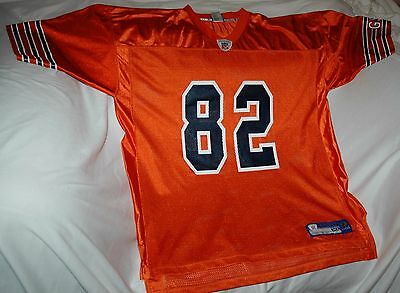 Rare Alan Page jersey! Chicago Bears men's XL NEW! NFL vintage throwback ORANGE