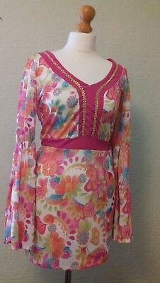 Retro Style 60's/70's .2 pieces Outfit. Size M.Never Worn  (C3)