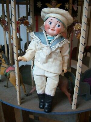 Armand Marseille 324 A11/0M made in Germany Puppe Bisquitporzellankopf Googly