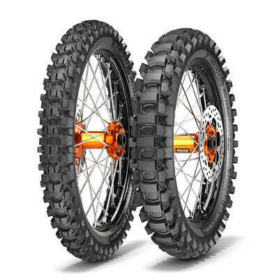Metzeler M360 Mid Hard Tyres Road Legal Enduro MX PAIR 110/100-18 & 80/100-21