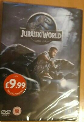 Jurassic World DVD - New and Sealed Fast and Free Delivery