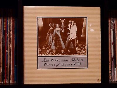 Rick Wakeman ♫ The Six Wives of Henry VIII ♫ Rare EX 1973 A&M Records Monarch LP