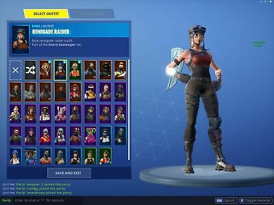 RENEGADE RAIDER Account Fortnite RARE & EXCLUSIVE! READ DESCRIPTION!