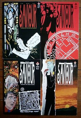 The Saviour 1-4, Mark Millar, Trident Comics, 1990, Fn