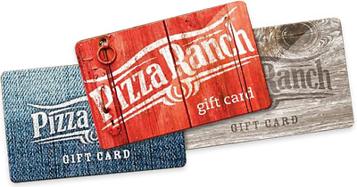$20 Pizza Ranch Gift Card