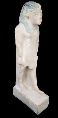 Very Beautiful Rare Egyptian Antique Sculpture Ancient Egypt King Faience Statue