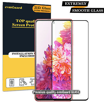Screen Protector For SAMSUNG Galaxy S9 Plus TEMPERED GLASS Film - BLACK