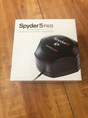 SPYDER 4 PRO Advanced Monitor Calibration Datacolor Colorimeter