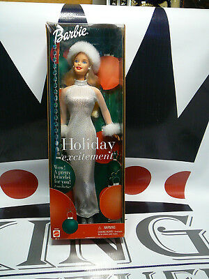 Holiday Excitement Barbie Special Edition 2001 Mattel