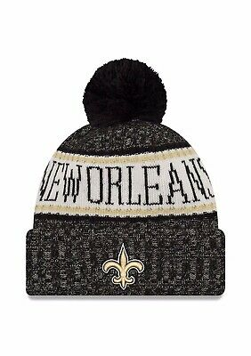 3ca3c32bf24 New Orleans Saints Nfl New Era Official On Field Sideline Beanie Knit Hat