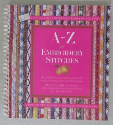 A-Z For Embroidery Stitch - One Of The Great Reference Books Of All Time