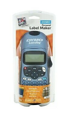 Brand New DYMO LetraTag Personal Label Maker LT-100H blue
