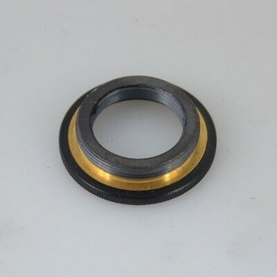"""LOMO  Objective Brass Adapter ( RMS) 4/5"""" - M27 microscope"""