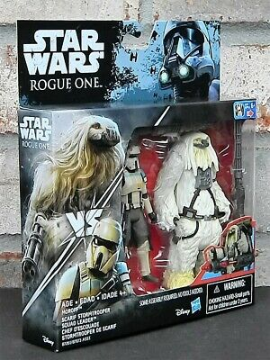 SCARIF STORMTROOPER & MOROFF Star Wars Rogue One 3.75 Inch Action Figure 2 Pack