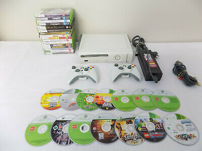 Xbox 360 Console Bundle Console + 2x Wireless Controller + 30x Games