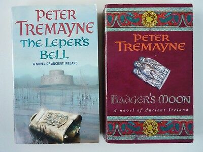 Peter Tremayne; Job Lot 2 Paperback Crime Novels Of Ancient Ireland