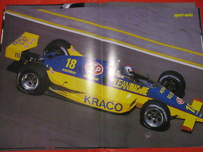 Poster 2 Pages Auto : Andretti Cart N°18