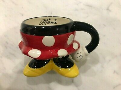 Disneyland Disney Parks Minnie Mouse Signature Mug - Brand New Collectors Item