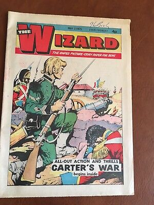 Vintage Comic - The Wizard - 3rd May 1975 (Ideal Birthday Idea)