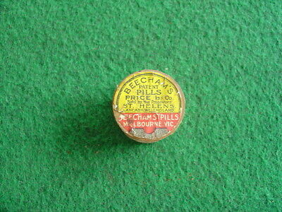 Vintage 30's Beecham's patent pills pack/packaging/chemist/grocery