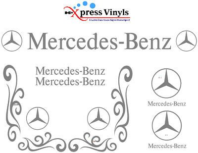 Mercedes truck decal MEGA PACK van graphics stickers Actros Atego Axor Sprinter
