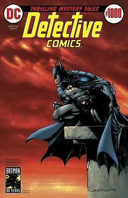 Detective Comics #1000 - 1970S Bernie Wrightson Variant - Bagged & Boarded