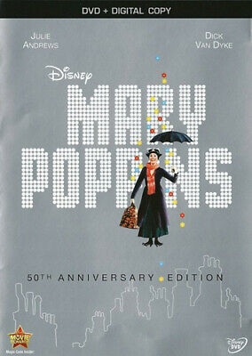 Mary Poppins (1964 Julie Andrews) (50th Anniversary Edition) DVD NEW